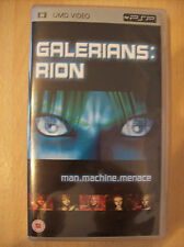 Galerians Rion UMD Video for the Playstation Portable PSP Manga New