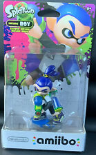 New Nintendo AMIIBO Inkling Boy (Splatoon Series) Wii, 3Ds, Switch. Ships Free!