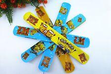 50pcs assorted color Minions Magic Slap Band Bracelets  toy bangle funny toy