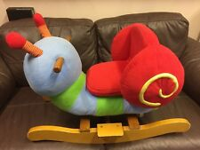 TODDLERS ROCKING SNAIL TOY USED