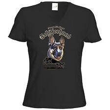 Fruit of the Loom Damen-T-Shirts mit V-Ausschnitt aus Baumwolle