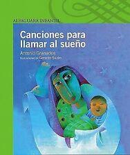 Canciones Para Llamar Al Sueno (Poetry, Riddles, Rhymes and Songs) (Spanish Edit