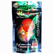 Okiko Cichlid Flowerhorn Fish Food Floating Pellets Calcium Big Head Faster 100g