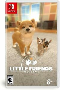 Little Friends: Dogs & Cats Nintendo Switch [Family, Cute Pets, Simulation] NEW