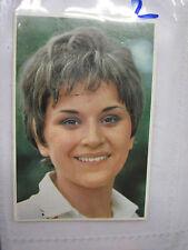 FIGURINA EDIS CANTANTI 1969 GIANNA MESCOLI NUMERO 101 NUOVA