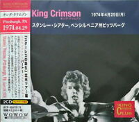King Crimson - 1974-04-29 Stanley Theatre. Pittsburgh.PA [New CD] Japan - Import