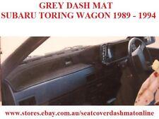 DASH MAT, DASHMAT, DASHBOARD COVER FIT  SUBARU TOURING WAGON 1989-1994, GREY