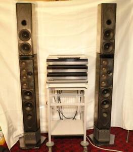 Bang & Olufsen B&O Beomaster Beogram 7000 CD Penta 6632 Speakers &Remote Control