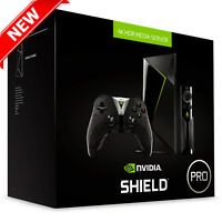 NVIDIA SHIELD TV Pro 500GB Streaming Media Player 4K w/ Gaming Controller