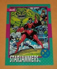 Starjammers # 86 - 1992 Marvel X-men Series 1 Base  Impel Trading Card