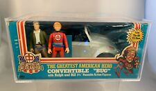 Mego The Greatest American Hero Convertible Bug w/Ralph and Bill 3 3/4 Figures