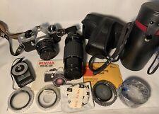 New ListingPentax Me Super Slr 35mm Camera Plus Extra Lens & Filters Excellent Shape