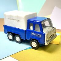 Vintage Bootleg Tonka / Buddy L Police Transport Vehicle 70s Blue Fair Condition