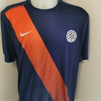 maillot de football Montpellier hérault   taille xL nike 2015