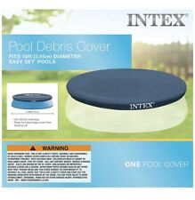 Intex 10 Ft Round Easy Set Pool Cover - SHIPS TODAY✅