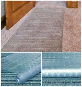 Carpet Protector Runner Home Office Hallway Film Mat Roll Vinyl Plastic Clear