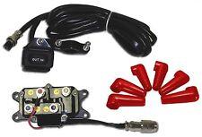 12V Solenoid Relay Contactor & Winch Rocker Thumb Dash Switch COMBO for ATV UTV
