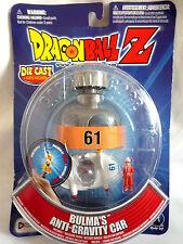 DRAGONBALL Z / BULMA'S ANTI-GRAVITY CAR / DIE-CAST VEHICLE / FIGURE & CAPSULE