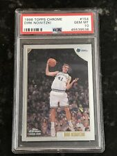 1998 Topps Chrome DIRK NOWITZKI #154 PSA 10 Gem Mint