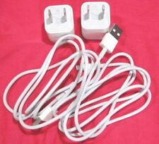 2X Genuine OEM Original Apple iphone 8 7 6 6s 5 5S Charger Data Lighting Cable