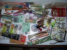 Antique Fishing Lure Lot Grandpa's Tackle Box Contents