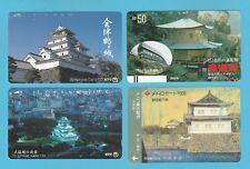 TELEPHONE CARDS  -  JAPAN  -  4  VARIOUS  JAPANESE  TELEPHONE  CARDS     ( G )