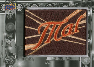 Firefly the Verse Patch Chase Card F-2 Mal