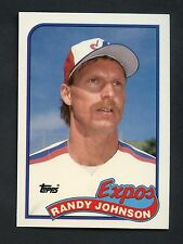 1989 TOPPS Randy Johnson EXPOS Rookie Baseball Card #647 MINT FROM VENDING