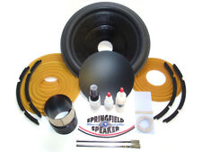 Complete Alpine SWR-12D4 Recone Kit - Dual 4 Ohm - Incl Adhesives