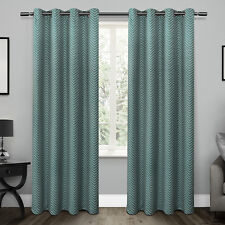 Blackout Thermal Curtain Panels - Set of 2 - Teal