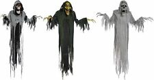 Halloween Hanging Props Animated Lifesize Witch Reaper Phantom 6FT Haunted House