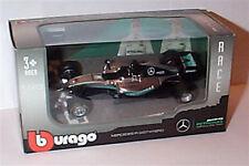 Mercedes AMG petronas F1 W07 hybrid Lewis Hamilton 2016 car 1.43 scale burago