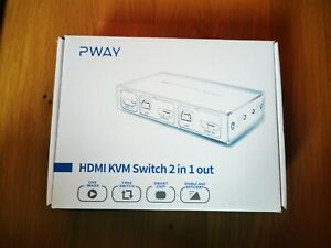 HDMI KVM Switch 2 Port - NEU -