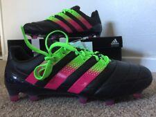 Adidas Ace 16.1 RRP £150 FG AG Black UK 6 US 6.5 EU 39.3 Football Soccer Boots M