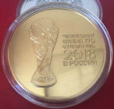 2018 FIFA Cup Soccer Commemorative Coin Russia World Cup Commemorative Coin 30mm