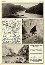 1915 * Zum Aufmarsch der alliierten Truppen in Süd-Serbien * Bilddokumente  WW1