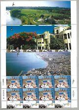 Israel 3 Full Sheets MNH Year 2009 Tel Aviv Centennial