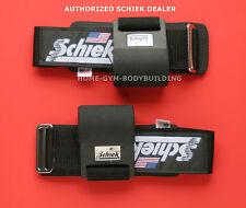Schiek 1200PLH Power Lifting Hooks PADDED WRIST  lift heavy weights USA MADE New