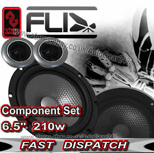 "FLI FU6C COMP Underground 6.5"" 210w 16.5cm 2-Way Car Van Component Speakers Pair"