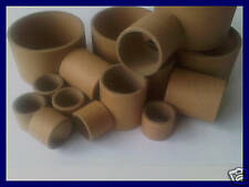 100 Cardboard Tube Cores - 38mm Diameter x 50mm Wide