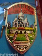Paris Sacre-Coeur new badge stocknagel mount shield hiking medallion G9971