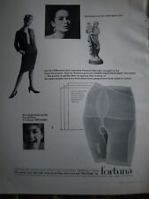 1964 Vintage FORTUNA Girdle All Women are Not alike Ad