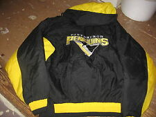 Pittsburgh Penguins OLD-LOGO Hooded Ski Jacket,Buy &GET FREE GOLD AMATEUR JERSEY