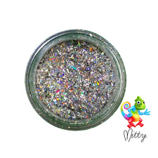 Nail Art Flake Powder by Mitty - Rainbow