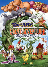 Tom and Jerry's Giant Adventure: Original Movie with Bonus Discs (DVD, 2014,...