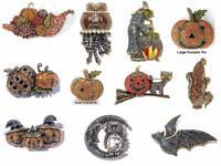 Heidi Daus Pin Autumn Pumpkin Halloween Pat Witch Owl Price range $69.95-$169.95
