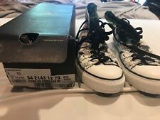 RARE!!! All Star x Gorillaz 2011 Limited Artwork White High Top Sneakers Mens 8
