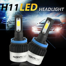 Nighteye H11 H8 H9 72W 9000LM AUTO LED LAMPADE FARI HEADLIGHT BULB Luci e frecce