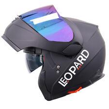 MODULR FLIP UP FRONT Motorbike Helmet Motorcycle Inner Sun Visor + Iridium Visor