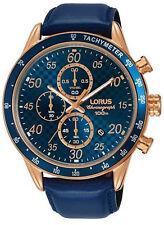 Reloj Hombre Lorus Sport Man RM338EX9 de Acero inoxidable ba?ado en oro Azul